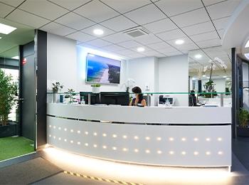 Centre Ellipse Strasbourg, un comptoir d'accueil pour vous recevoir en toute convivialité et confidentialité